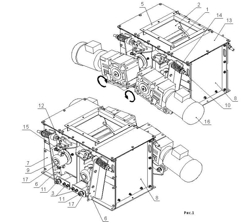 устройство дробилки двухвалковой