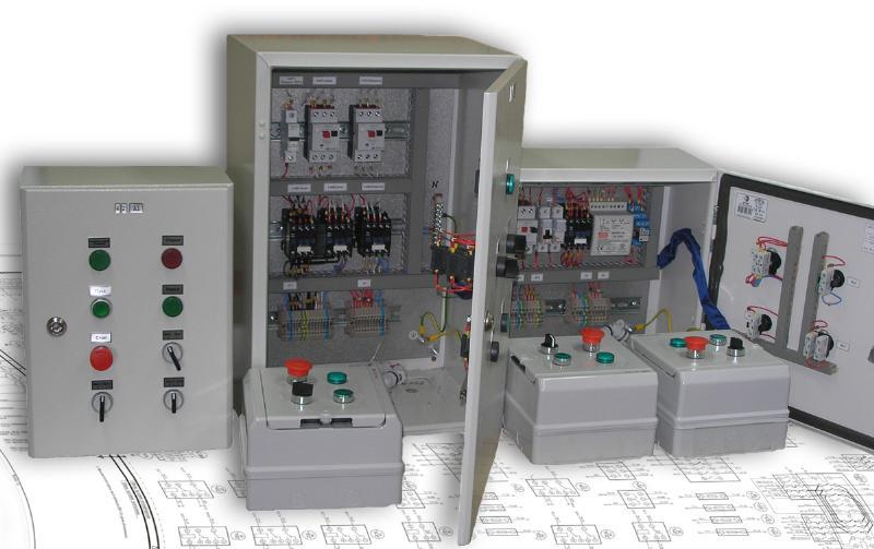 Щиты, посты, пульты управления электрооборудованием