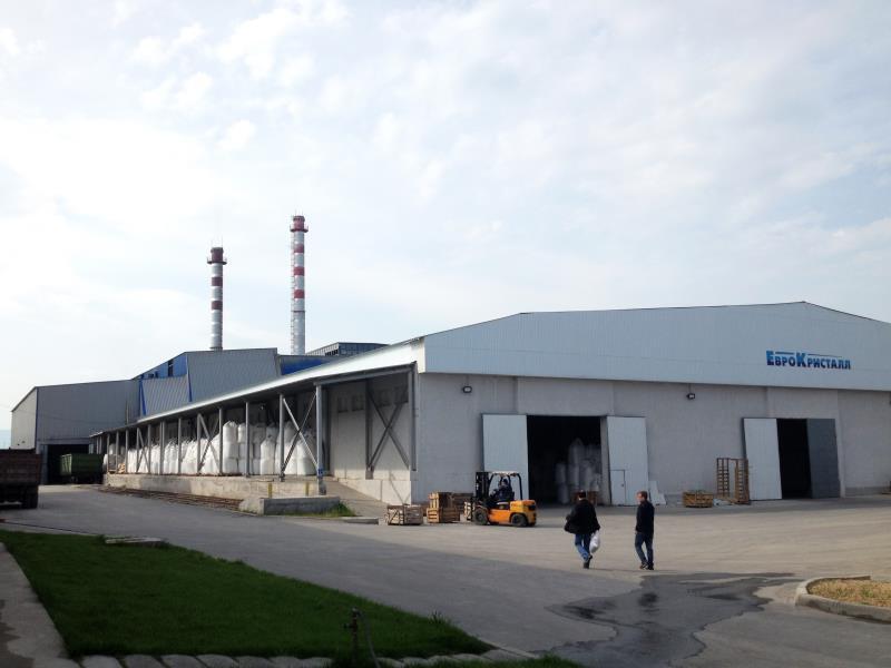 Стеклотарный завод «ЕвроКристалл» в г. Шымкент