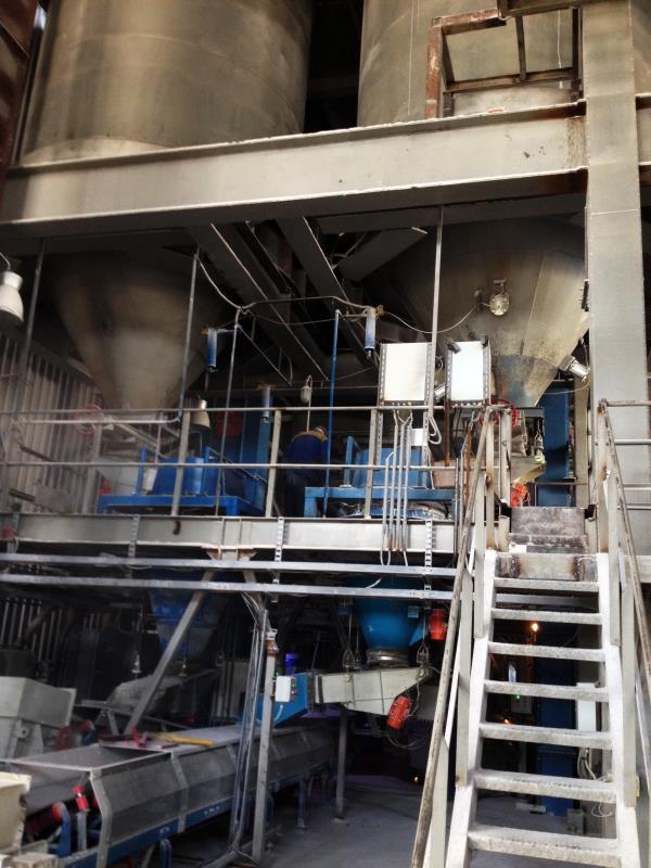Весовая линия на заводе «ЕвроКристалл»